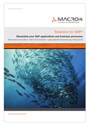 Solutions For SAP brochure image